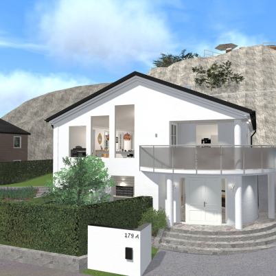 Villa Lycka, Design Pål Ross.