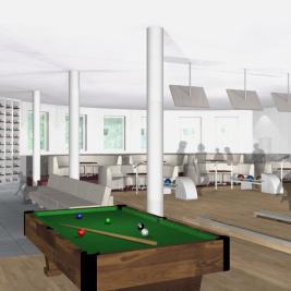 Design © Arkitekt Pål Ross - Bowlinghall