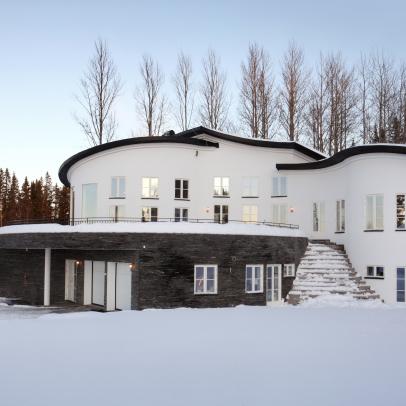 Design © Arkitekt Pål Ross - Villa Östersund