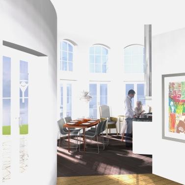 Design © Arkitekt Pål Ross - Villa Mälaren kök
