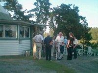 Festdeltagare vid 80-årsjubiléet 2004
