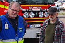 Lennart Svensson Ordförande FRG Urban Nilsson Gruppledare Båtgrupp