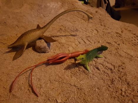 Underjordisk fossiljakt