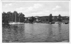 Vykort hamnen 1950-tal