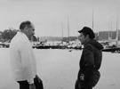 Kar-Axel Johnsson o Bosse Pettersson hamnen