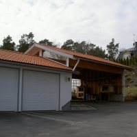 Carport med garage 001