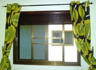 Myggfönster till sovrummet