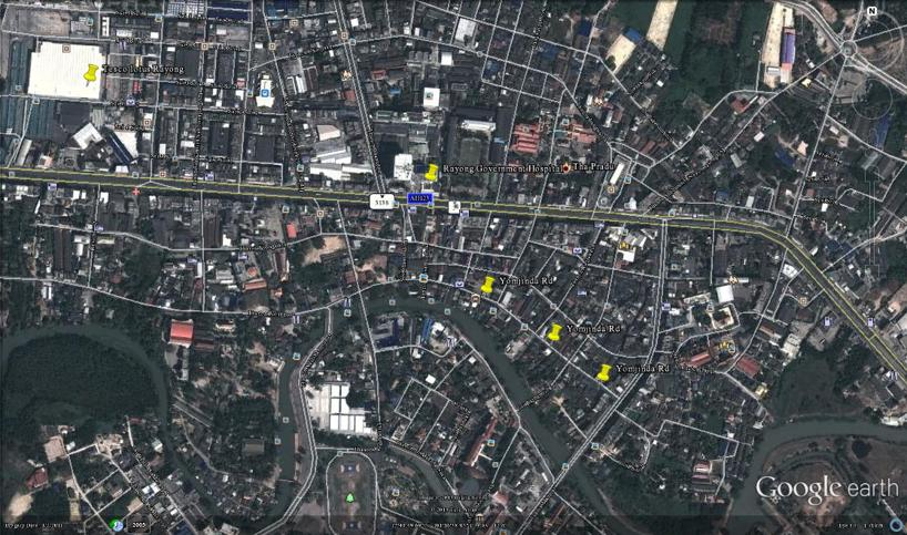 Yomjinda Rd - Gamla Rayong stad