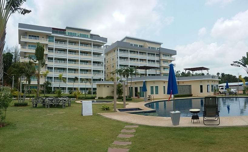 Condominium A to the right