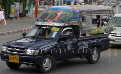 Songtaew taxi