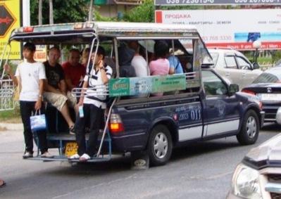 Rayong city - Ban Phe - Mae Phim
