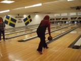 Match i bowlinghallen