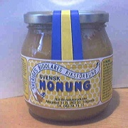 Låda Honung 12 st burkar