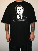 LUCKY LUCIANO Tall tee - black (M - 5XL)