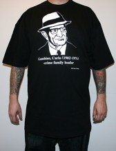 CARLO GAMBINO Tall tee - black (M - 6XL)