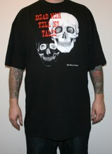 DEAD MEN TELL NO TALES Tall tee - black (2XL - 6XL)