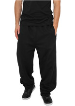 Urban Classics: Sweatpants urban fit - black (L)