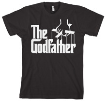 THE GODFATHER Logo Unisex T-Shirt (Black) (M)