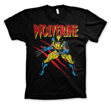 WOLVERINE Scratches T-shirt (Black)