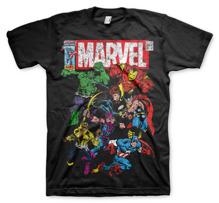 MARVEL´S AVENGERS: Marvel Comics - Team-Up Unisex T-Shirt (Black)