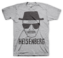 BREAKING BAD: Heisenberg Sketch T-Shirt (H.Grey)