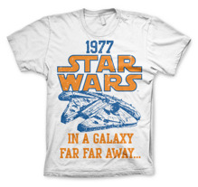 STAR WARS 1977 Unisex T-Shirt (White)