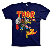 MARVEL´S AVENGERS: The Mighty Thor - For Asgard! T-Shirt (Navy)