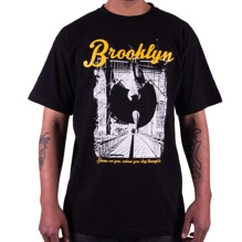 Wu-Wear: Wu Brooklyn Bridge T-Shirt - black