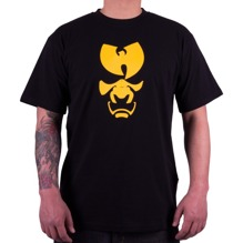 Wu-Wear: Wu Samurai Mask T-Shirt - black