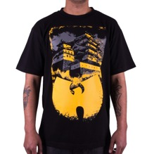 Wu-Wear: Wu Shaolin Temple T-Shirt - black