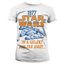 STAR WARS: 1977 Girly Tee (White)