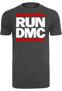 Run DMC Logo Tee - charcoal