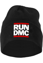 Run DMC Logo Beanie - black