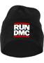 Run DMC Logo Beanie - black