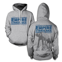 STAR WARS: Empire Strikes Back AT-AT Hoodie (H.Grey)
