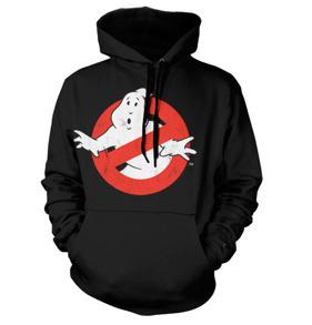 Ghostbusters Distressed Logo Hoodie (Black)