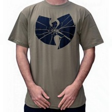 Wu-Wear: Wu Broken Logo T-Shirt - olive