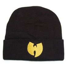 Wu-Wear: Wu Beanie - black/yellow