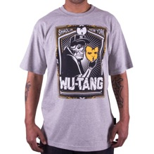 Wu-Wear: Wu Death Mask T-Shirt - grey (M)