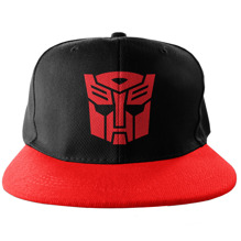 TRANSFORMERS: Autobot Embroidered Snapback Cap