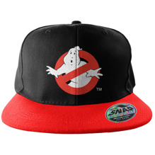 GHOSTBUSTERS: Logo Embroidered Snapback Cap
