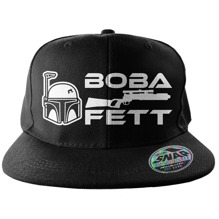 STAR WARS: Boba Fett Cap (Black)