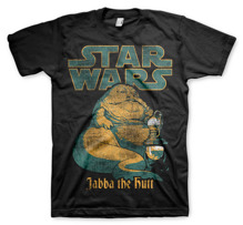 STAR WARS: Jabba The Hutt Unisex T-Shirt (Black)
