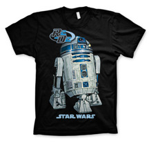 STAR WARS: R2D2 Unisex T-Shirt (Black)