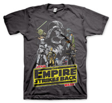 STAR WARS: The Empire Strikes Back T-Shirt (D.Grey) (XXL)