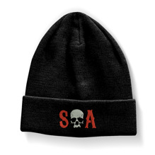 SONS OF ANARCHY: S-O-A Embroidered Beanie