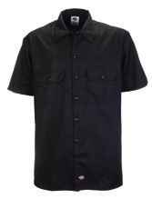 Dickies 1574 Short Sleeve Work Shirt - black (3XL)