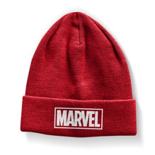 Marvel Red Logo Beanie (Red)