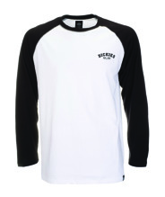 Dickies BASEBALL Longsleeve T-shirt - white/black (M)
