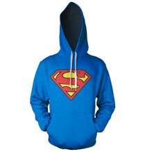 Superman Shield Hoodie (Blue)